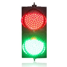 Mini semaforo a led rosso verde 200mm